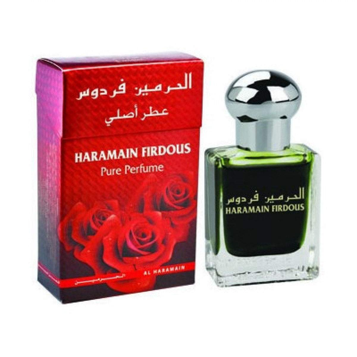 Buy Al Haramain Firdous Pure Imported Attar Perfume 15ml Online in india | Adilqadri.com