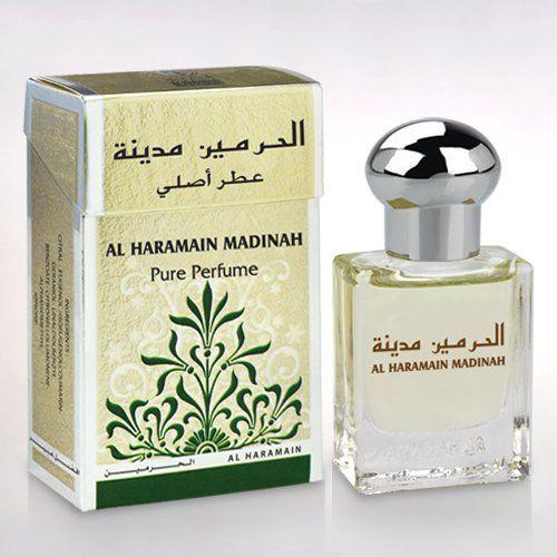 Buy Al Haramain Madinah Pure Imported Attar 15ml Online in india | Adilqadri.com