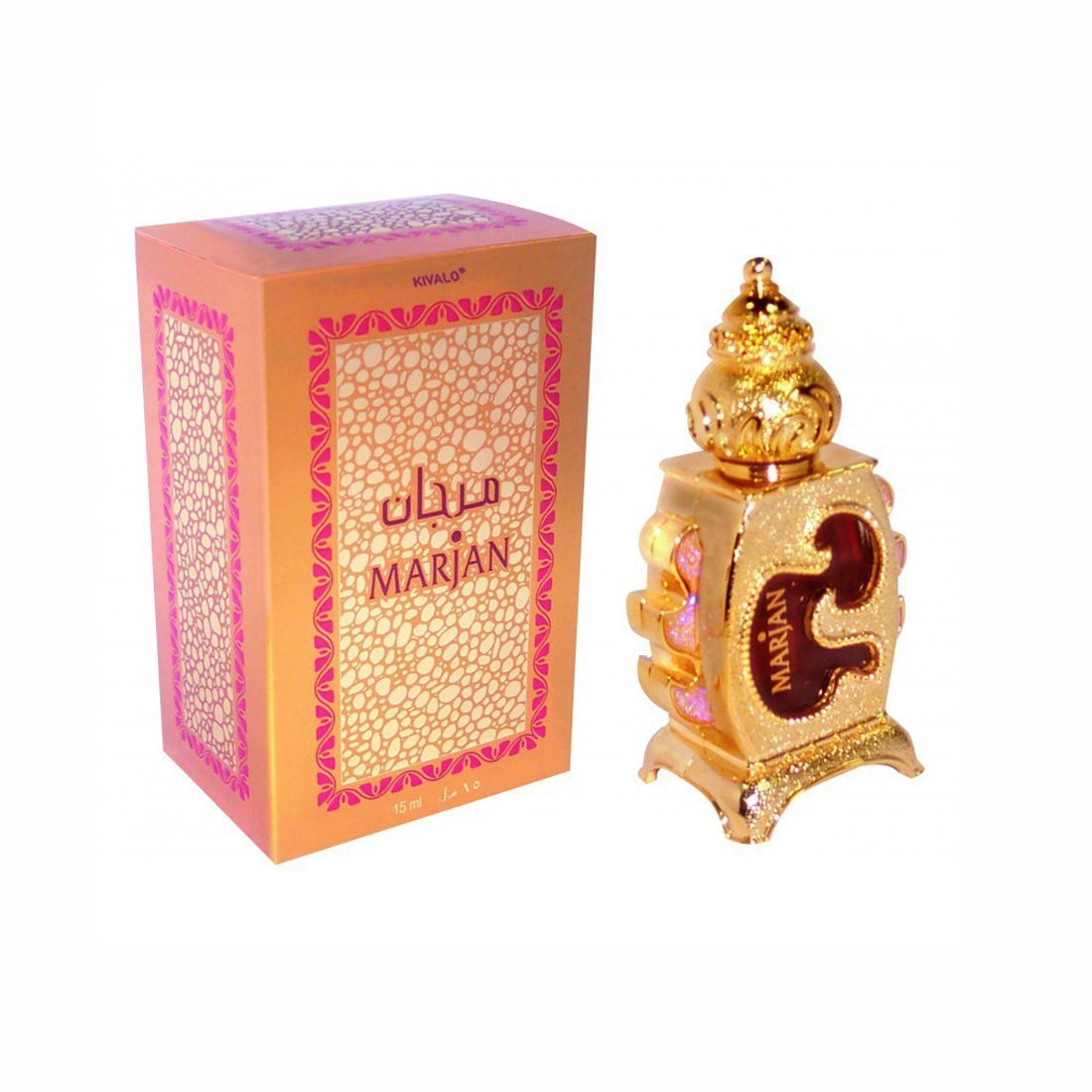 Al Haramain Marjan  Pure Imported Synthetic Attar Perfume