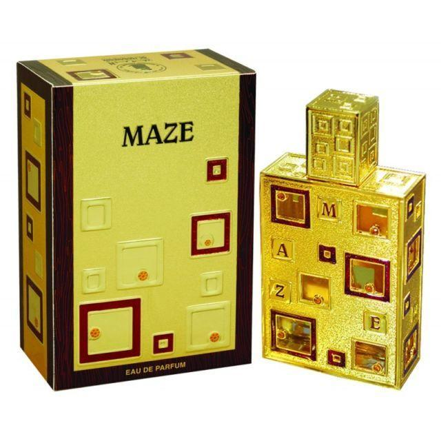 Al Haramain Maze Pure musk  Imported ( U.A.E.  Dubai) Spray Perfume 50 ml.