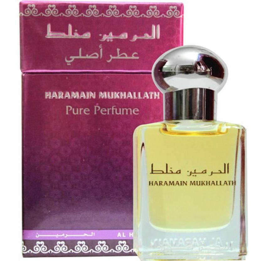 Buy Al Haramain Mukhallat Pure Imported Attar Perfume 15ml Online in india | Adilqadri.com