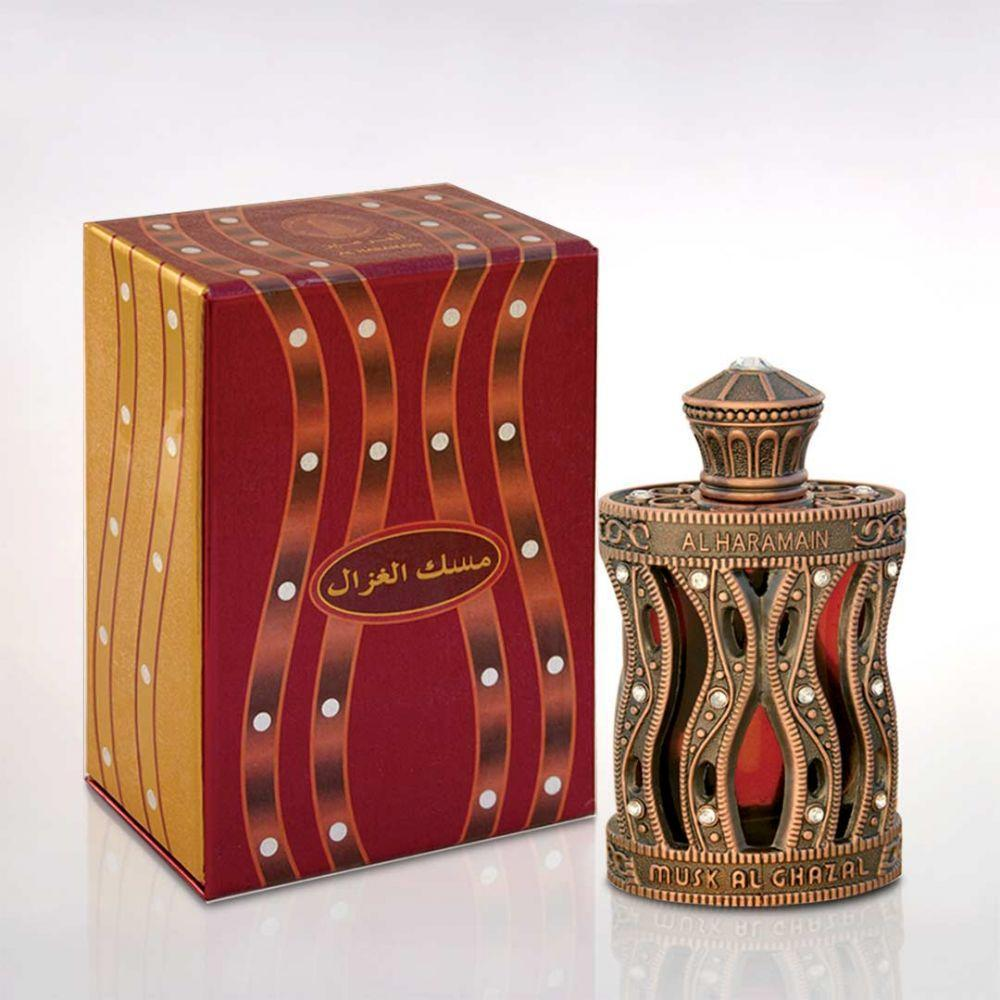 Al Haramain Musk Al Ghazal Fragrance Pure Synthetic Attar - 30 ml  Imported Synthetic Attar  (U A E  Dubai)