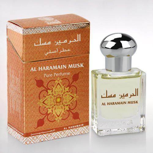 Buy Al Haramain Musk Pure Imported Attar Perfume 15ml Online in india | Adilqadri.com