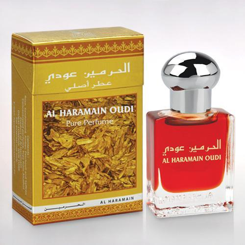 Buy Al Haramain Oudi Pure Imported Attar Perfume 15ml Online in india | Adilqadri.com