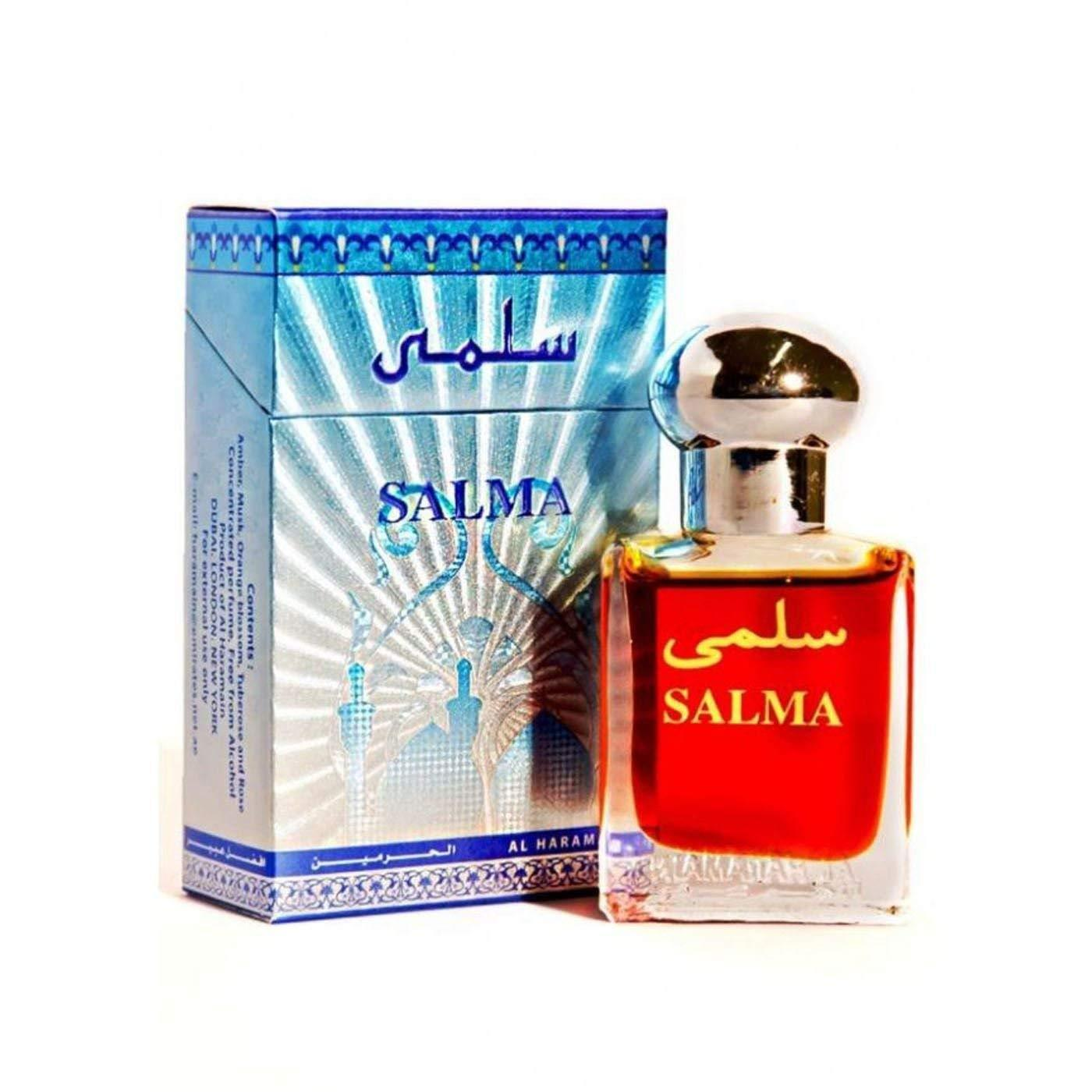 Buy Al Haramain Salma Pure Imported Attar Perfume 15ml Online in india | Adilqadri.com