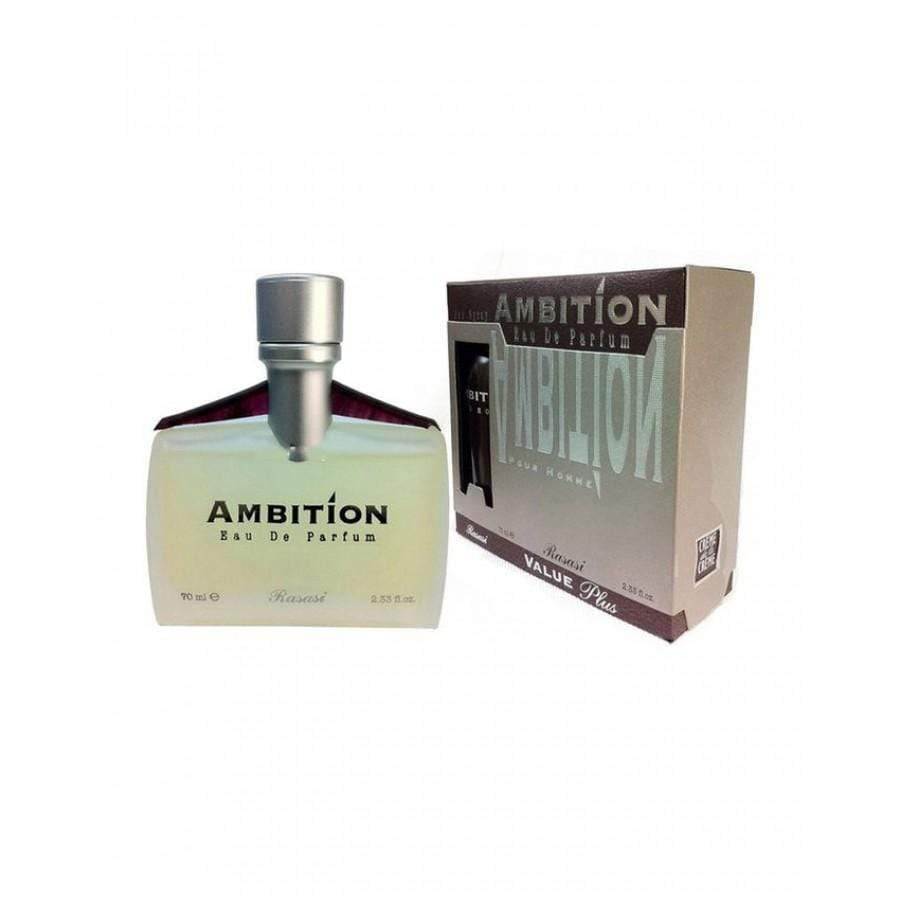 AMBITION By Rasasi, concentrated Perfume Oil Sensational woody . perfume spray with free deodorant