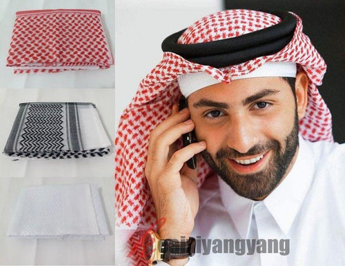Buy Arabic Scarf Rumaal 3 Colour Imported Premium Quality Online in india | Adilqadri.com
