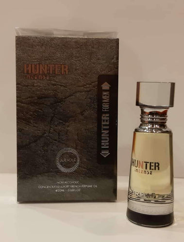 ARMAF HUNTER Pure Imported NON ALCOHOLIC Attar PERFUME OIL 20 ml