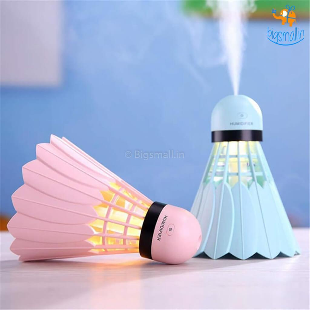 Aroma Essential Oil Diffuser Ultrasonic BEDMINTON Humidifier Air Purifier  USB Car air freshener for Office Home With Free Essential Oil