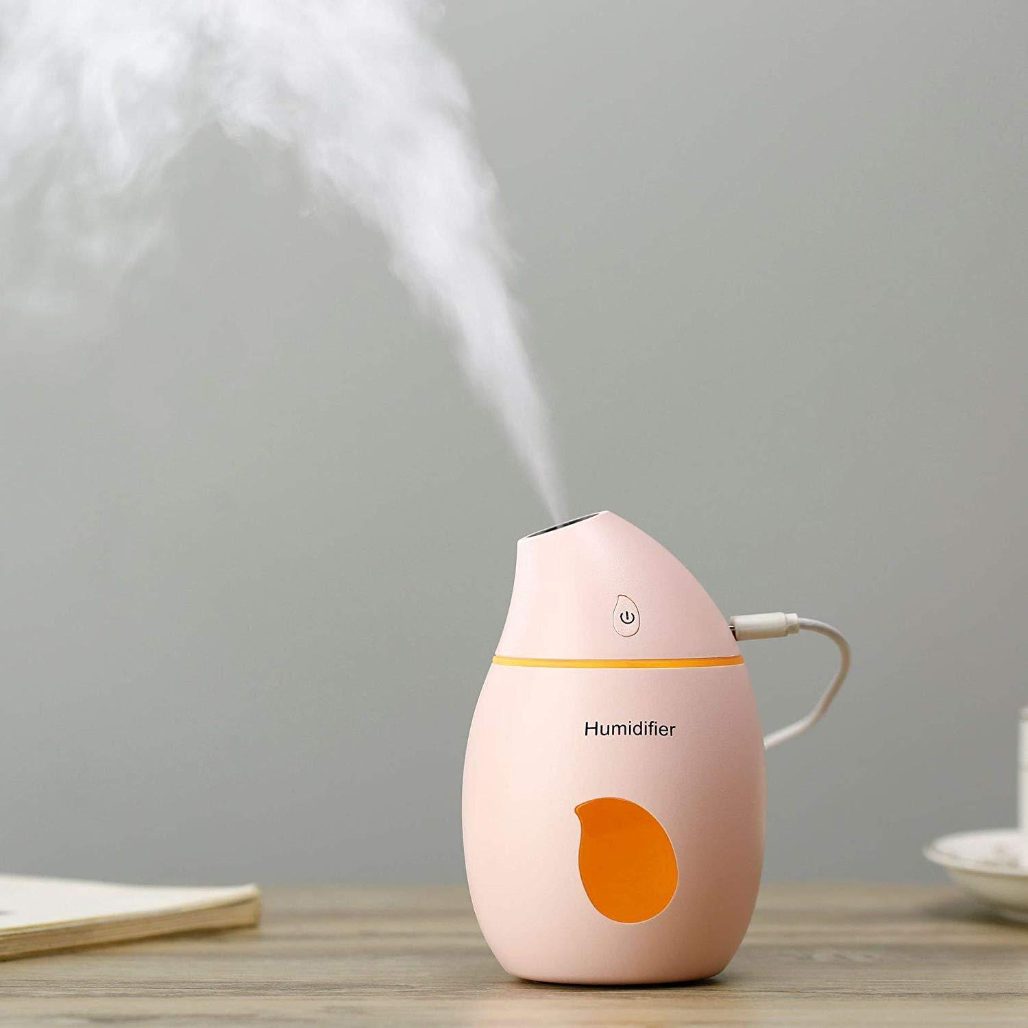 Aroma Essential Oil Diffuser Ultrasonic Mango Humidifier Air Purifier  USB Car air freshener for Office Home