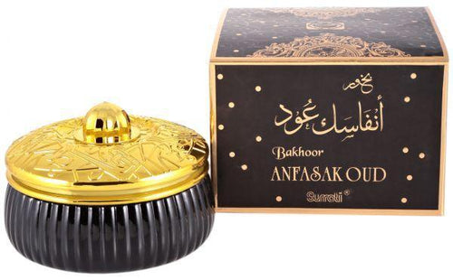 Buy Bakhoor Surrati ANFASAK OUD Orignal By  Surrati ( Kingdom of Saudi Arabia ) Online in india | Adilqadri.com