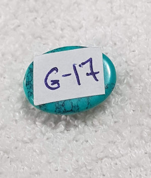 G-17 -7.00 - 09.30  Carat  TIBETAN FIROZA/TIBETAN TURQUOISE  Limited Exclusive Collection Gem Stone