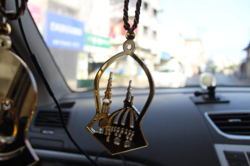 Ghumbad E Khazra Design Car Hanging Keychain 2pc Combo