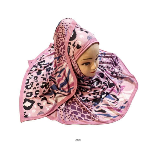 Hijab Scarf Dupatta Women's Outdoor Wear Jersey Stretchable Material Floral Printed (Multi Color, Free Size)