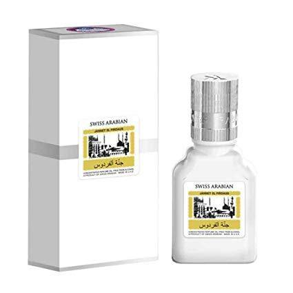 Jannatul Firdaus White Limited Edition Attar Original Swiss Arabian