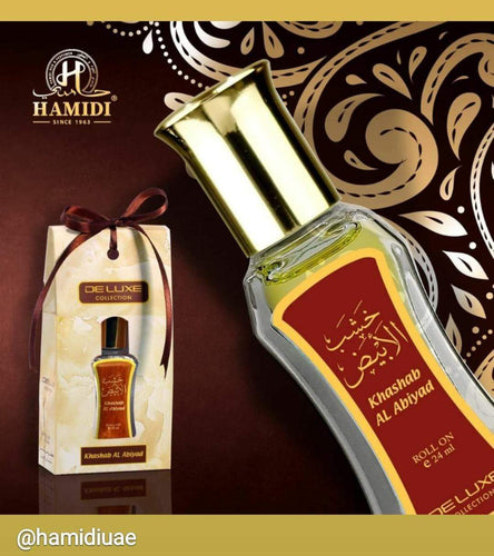 KHASAB AL ABIYAD   THE STERLING  Deluxe Collection pure attar  For Unisex, 24 ML MADE IN  U.A.E. DUBAI