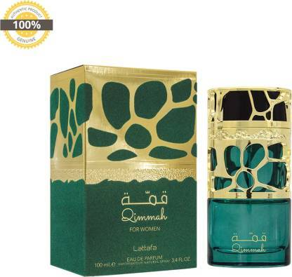 Lattafa QIMMAH FOR WOMAN Eau de Parfum - 100 ml  Lattafa Perfumes  Made in UAE (Dubai)