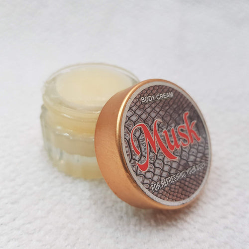 Musk Kasturi Attar Body Cream