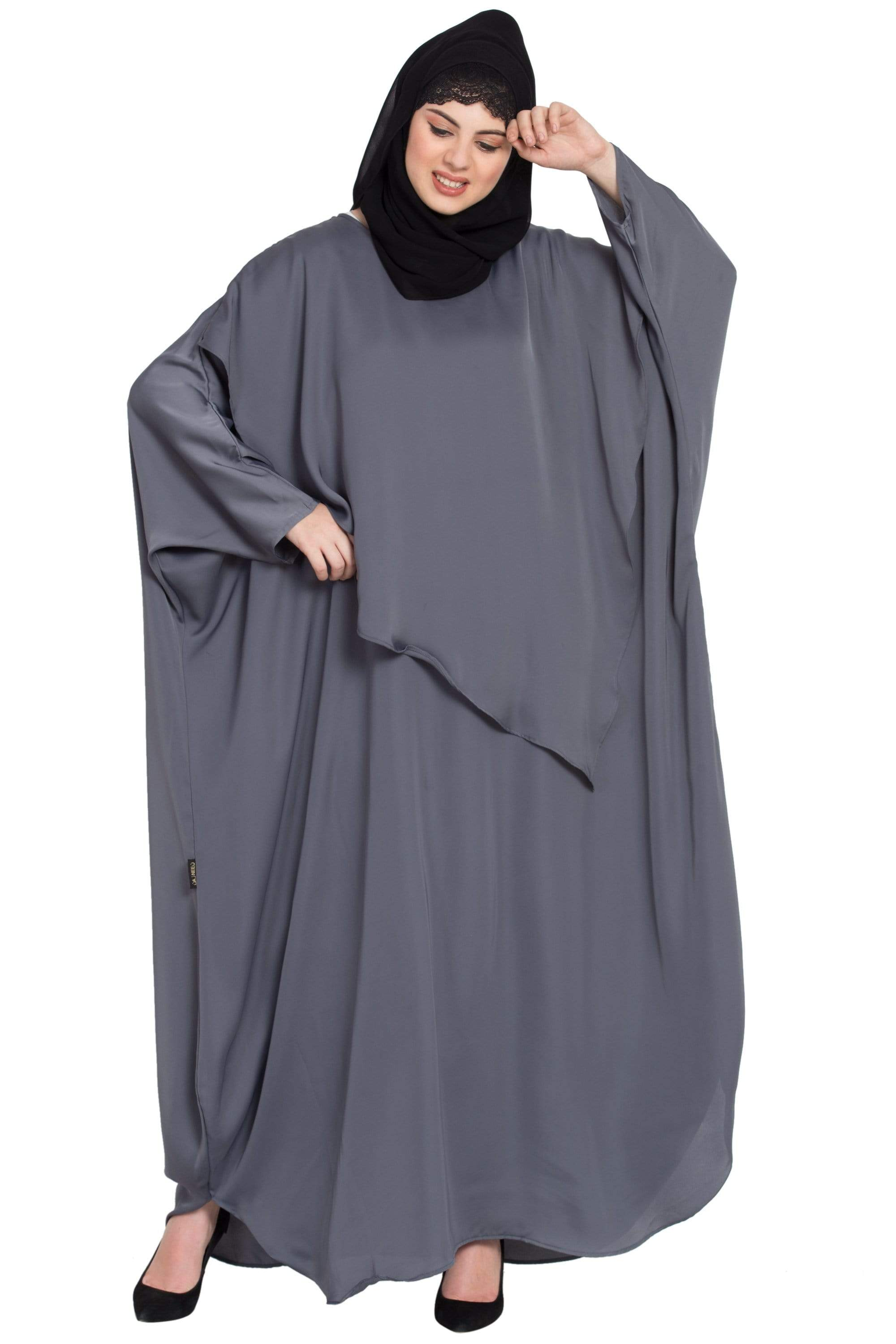 Nazneen Extra Panel Nursing mother Abaya