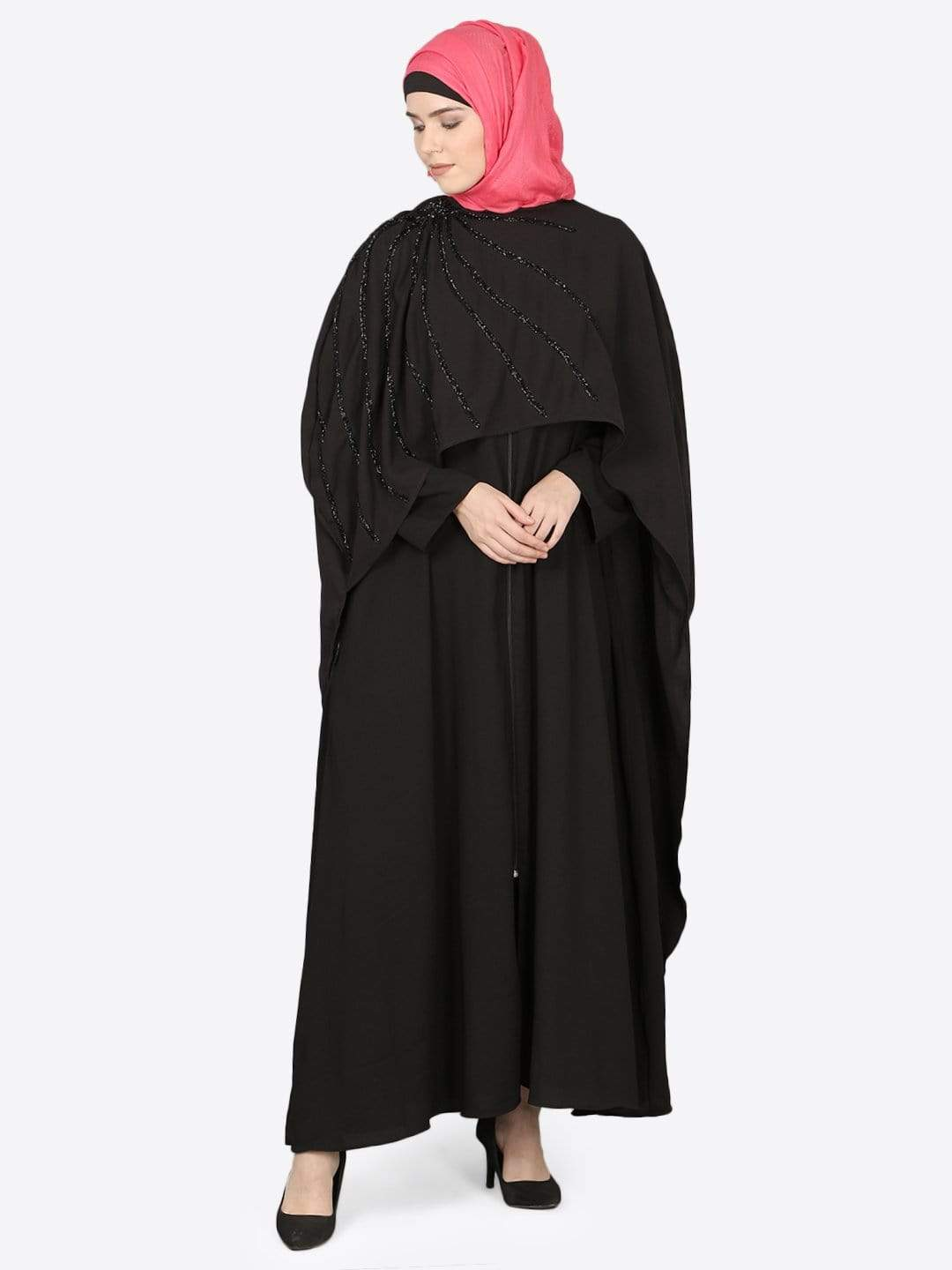 Nazneen separate Cape Beaded Abaya