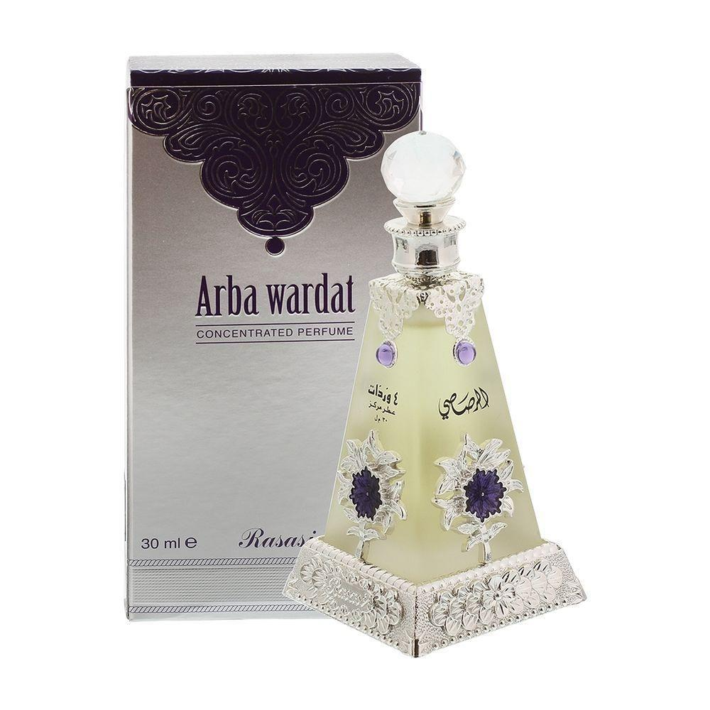Rasasi Arba Wardat Attar perfume Pure Imported For Mens And Womens-Adilqadri