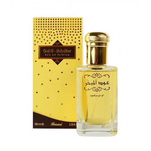 Rasasi Oudh Al Mubakhar Perfume spray For Men and Women orignal imported made in u.a.e. Dubai