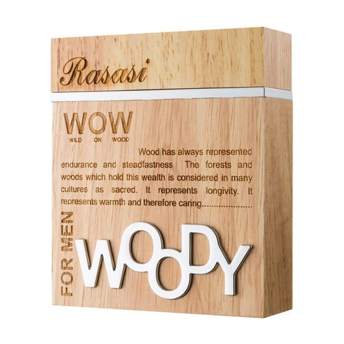 Rasasi WOW Woody For Men- 60ml  Perfume spray orignal  imported  . MADE IN U.A.E. DUBAI