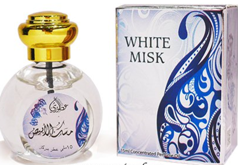 White Musk - Musk Abiyad 15ml by Otoori Soft Arabian Musk Synthetic Attar, Arabic Oil