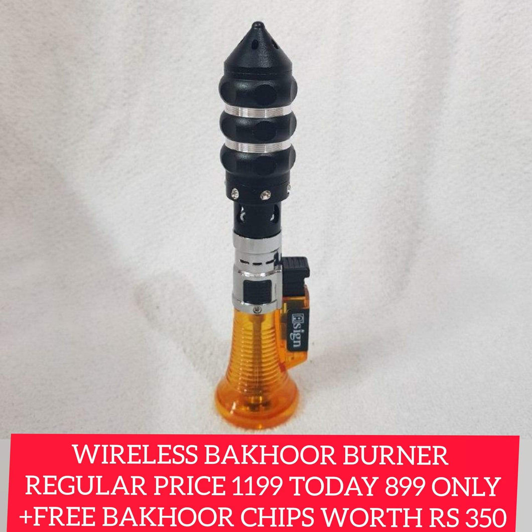Wireless Portable Bakhoor Burner Jet Flame Lighter