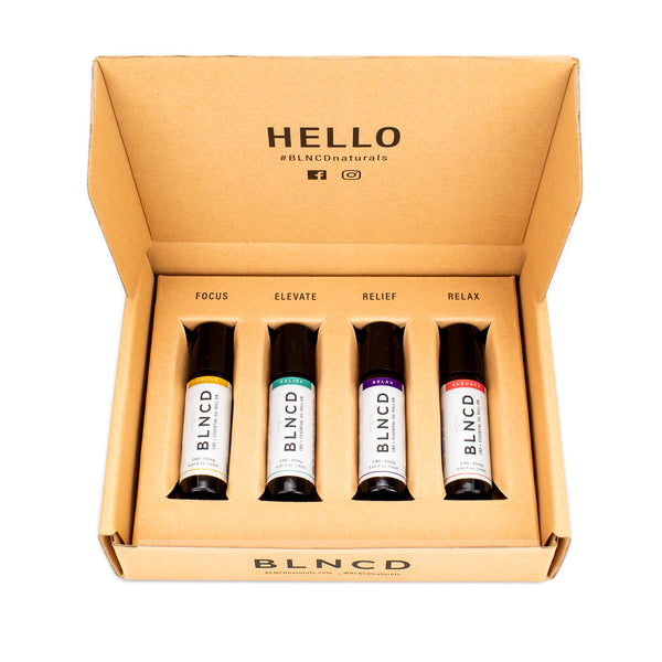 BLNCD - Aromatherapy + CBD Roll-On Discovery Kit