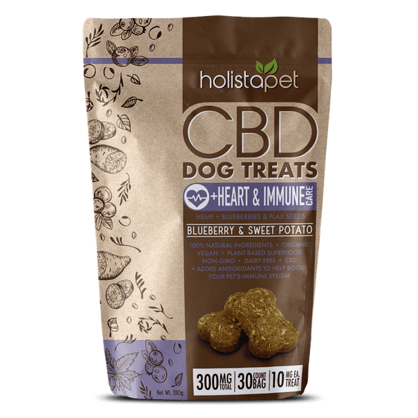 HolistaPet - CBD Dog Treats +Heart & Immune Care