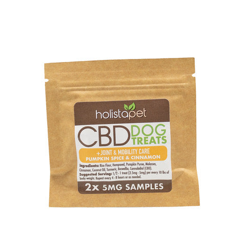 SAMPLE NOT FOR RESALE - HolistaPet - CBD Dog Treats +Joint & Mobility Care 2ct 5mg
