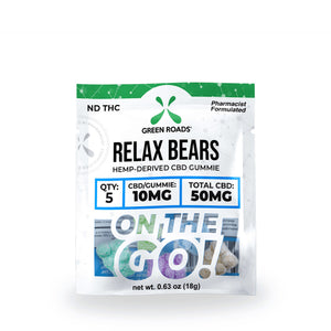 Green Roads - CBD On The Go - Relax Bears 5ct 50mg