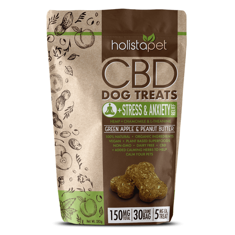 HolistaPet - CBD Dog Treats +Stress & Anxiety Relief
