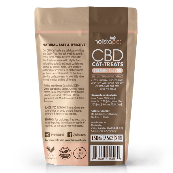 HolistaPet - CBD Cat Treats - 150mg
