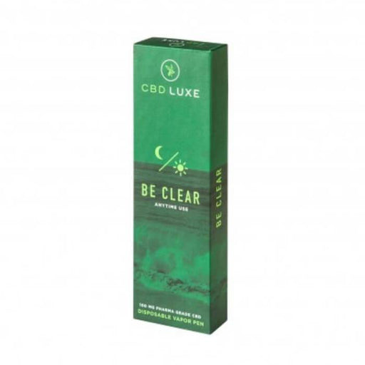 Be Clear Organic Disposable Vape Pen by CBD Luxe