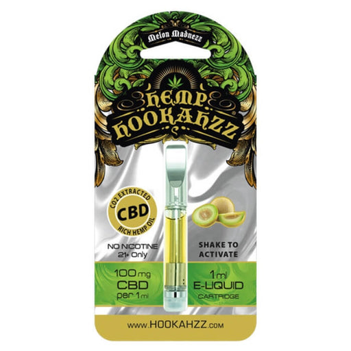 100MG Hemp CBD E-Liquid Cartridge by Hemp Hookahzz
