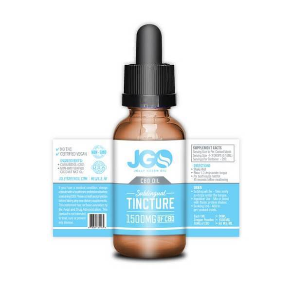Sublingual Tincture by Jolly Green Oil