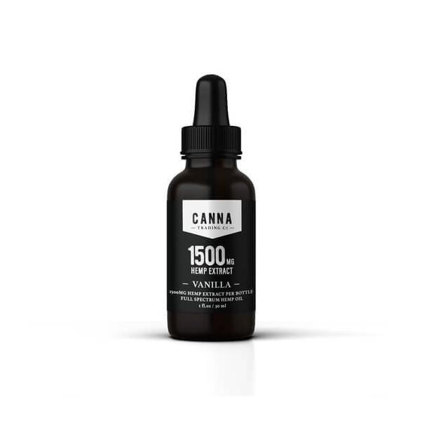 Vanilla CBD Tincture by Canna Trading Co.