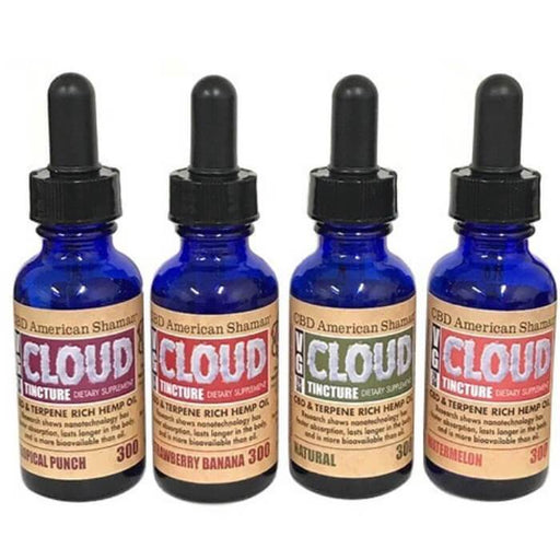 VG Cloud Terpene Rich Hemp Oil CBD Tincture by CBD American Shaman