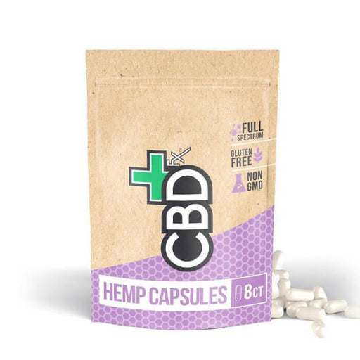 200MG CBD Capsules 8ct Pouch (30 Count) by CBDfx