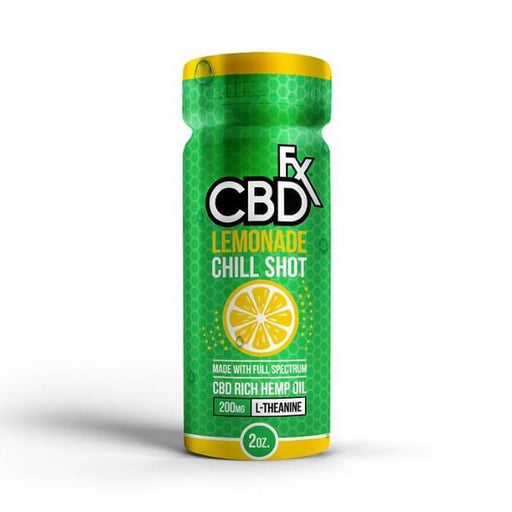 20MG Lemonade Chill Shot CBD Drink by CBDfx (6-Pack)