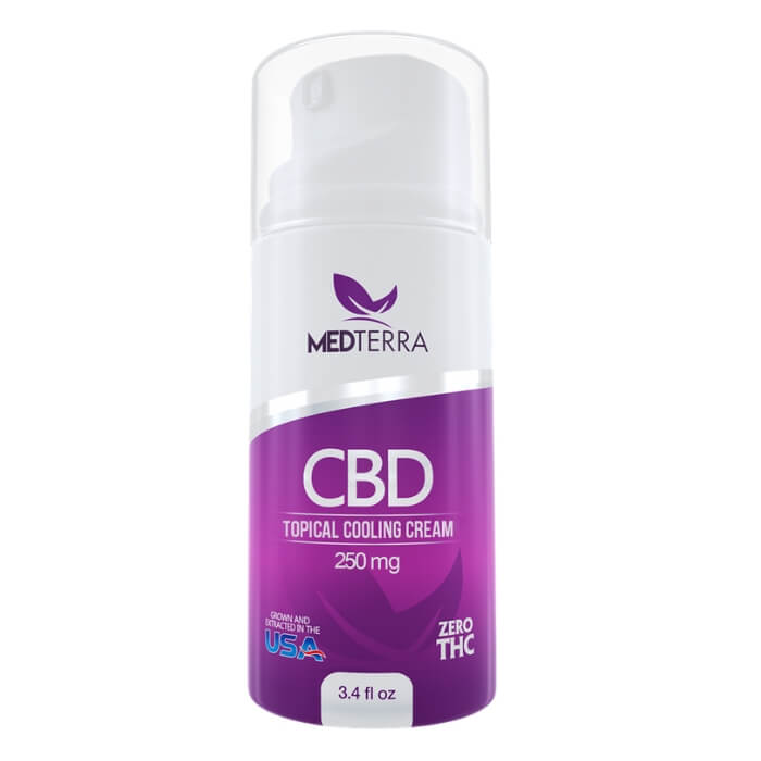 250MG CBD Topical Cooling Cream by Medterra