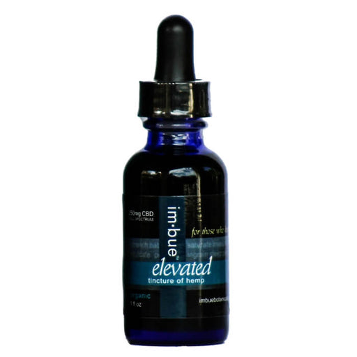 250MG Elevated Hemp CBD Tincture by Imbue Botanicals