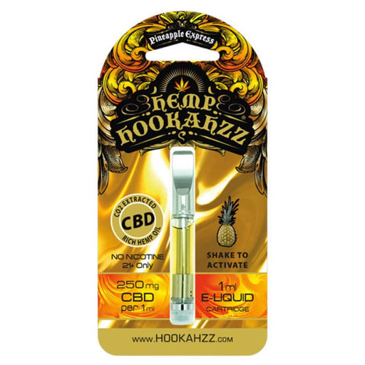 250MG Hemp CBD E-Liquid Cartridge by Hemp Hookahzz