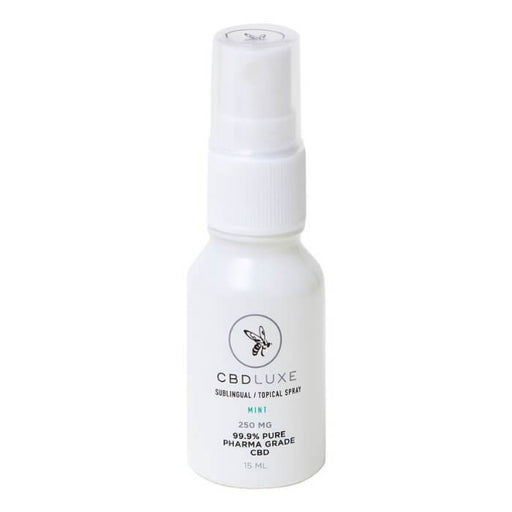 Organic CBD Mint Sublingual Topical Spray by CBD Luxe