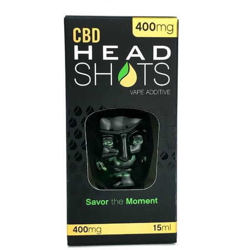 400MG Hemp Head Shots (Tincture or Vape Additive) by Fusion Brands