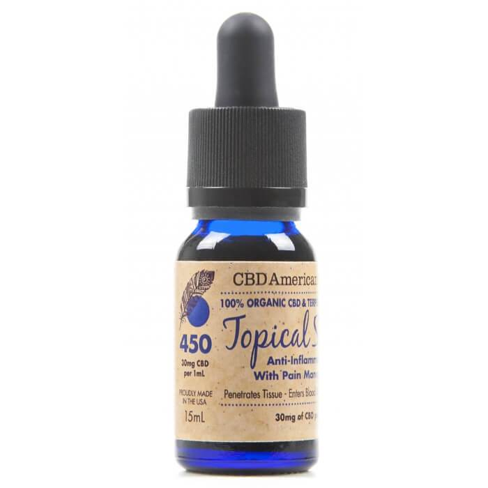 450MG Terpene Rich Topical Serum by CBD American Shaman