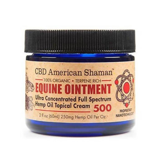 500MG Equine Ointment by CBD American Shaman
