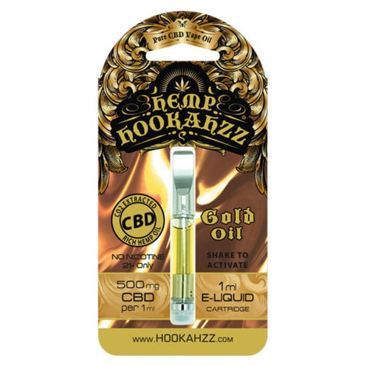 500MG Hemp CBD E-Liquid Cartridge by Hemp Hookahzz